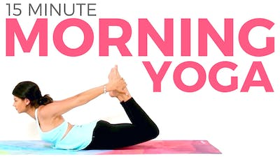 Instant Access to 15 min Morning Yoga Routine for Flexibility & Strength by Sarah Beth Yoga, powered by Intelivideo