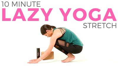 Instant Access to 10 minute Lazy Yoga Routine | Gentle & Easy Yoga Stretches by Sarah Beth Yoga, powered by Intelivideo