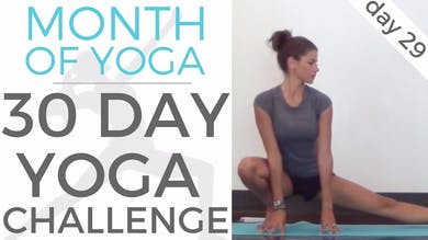 Day 29 - Intention Setting // #MonthOfYoga - 30 Day Yoga Challenge by Sarah Beth Yoga