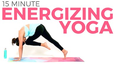 15 minute Energizing Power Yoga Workout by Sarah Beth Yoga