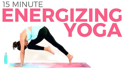 Instant Access to 15 minute Energizing Power Yoga Workout by Sarah Beth Yoga, powered by Intelivideo