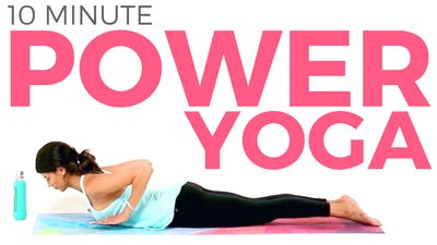 Instant Access to 10 minute Power Yoga for Strength & Balance by Sarah Beth Yoga, powered by Intelivideo