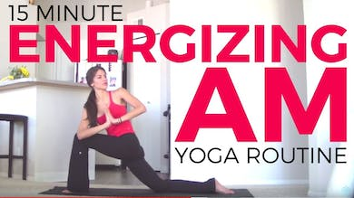 Energizing Morning Yoga Routine by Sarah Beth Yoga