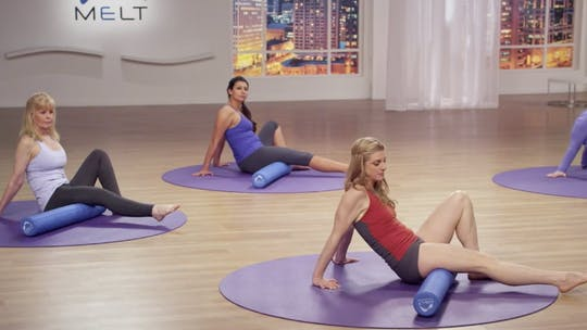 Instant Access to Intermediate Lower Body Class by MELT on Demand, powered by Intelivideo