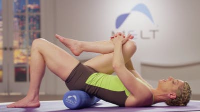 Instant Access to Lower Body Length and Low Back Release Sequence by MELT on Demand, powered by Intelivideo