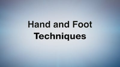 Hand and Foot Techniques by MELT On Demand