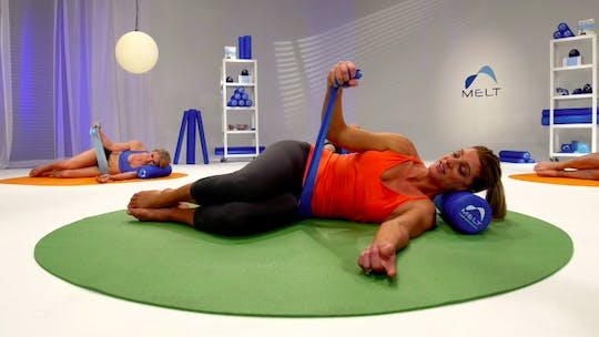 Instant Access to Upper Body Stability Sequence by MELT on Demand, powered by Intelivideo