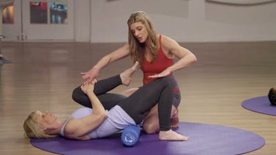 Instant Access to Lower Body Basic Class by MELT on Demand, powered by Intelivideo