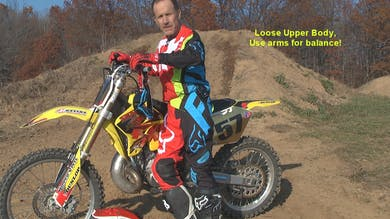 Techniques for Hard Packed Berms (ruts). by Gary Semics MX Schools