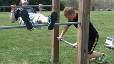 How To Monkey Bars and Calisthenics. by Gary Semics MX Schools