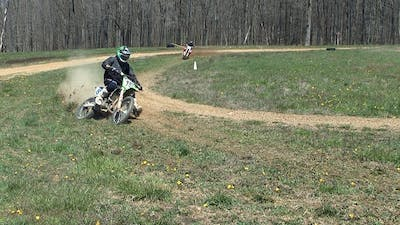 Advanced Motocross Practice Drills, 85 and Super-Mini. by Gary Semics MX Schools