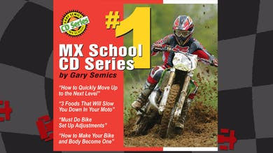 Motocross CD Series #1. Audio play in browser or mobile app. by Gary Semics MX Schools