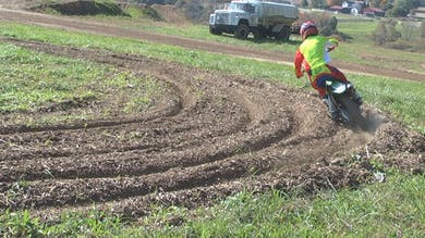 Rutted Figure 8 practice. by Gary Semics MX Schools