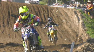 Motocross 65/85 Clutch, Throttle, Shifting and Rear Brake Skills. by Gary Semics MX Schools