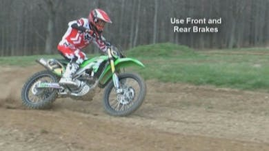 Motocross Skills for Vets Video #1 How to Improve Corner Speed and Control. by Gary Semics MX Schools