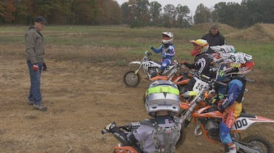 50cc Body Positions and Movements for Cornering. by Gary Semics MX Schools
