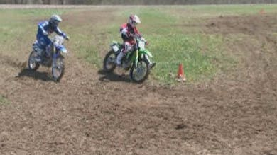 VO3 Video #4 Motocross Hard, Slippery Corning Techniques. by Gary Semics MX Schools