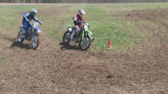 Instant Access to VO3 Video #4 Motocross Hard, Slippery Corning Techniques. by Gary Semics MX Schools, powered by Intelivideo