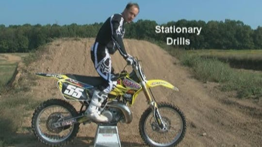 Instant Access to VO3 Video #6 Motocross Basic Jumping Techniques. by Gary Semics MX Schools, powered by Intelivideo