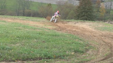 Motocross Balance in Rutted Corners. by Gary Semics MX Schools