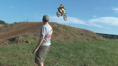 Private Lesson with Trevor part 1 of 2. by Gary Semics MX Schools