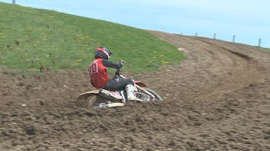 How to Stay in a Motocross Rut. by Gary Semics MX Schools