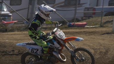 How to stand correctly on a Motocross Bike. by Gary Semics MX Schools