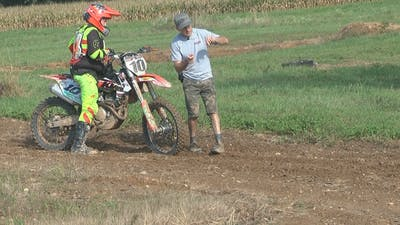 Private Lesson with Trevor part 2 of 2. by Gary Semics MX Schools