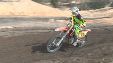 Corner Section Drill at Club MX. by Gary Semics MX Schools