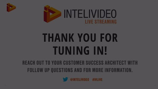 Instant Access to Live Streaming Webinar by marketing, powered by Intelivideo
