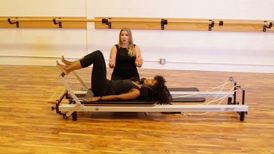 Instant Access to Beginner Pilates Reformer by Barre Life, powered by Intelivideo
