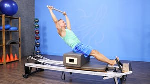 2nd Reformer Workout for Fit Clients 9-12-16 by John Garey TV