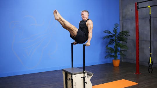 Athletic Workout on the Chair - 6_16_17 by John Garey TV