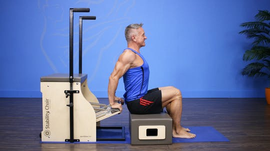 Beginner Chair Workout - 2_27_17 by John Garey TV, powered by Intelivideo