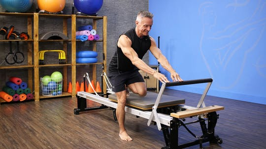 Beginner Reformer and Chair Workout - 3_27_17 by John Garey TV