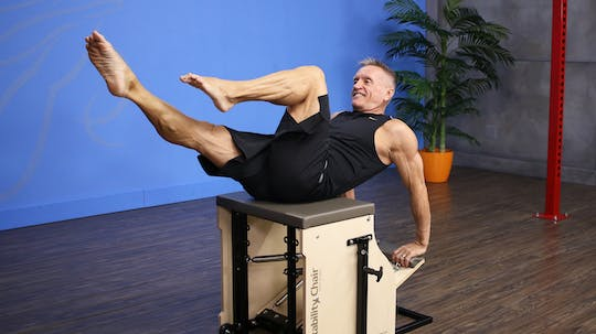 Chair Challenge Workout - 1-23-17 by John Garey TV