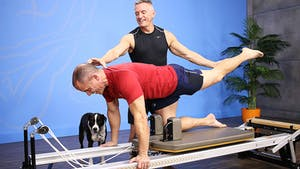 Instant Access to Reformer Lower Body and Core Workout - 2_6_17 by John Garey TV, powered by Intelivideo