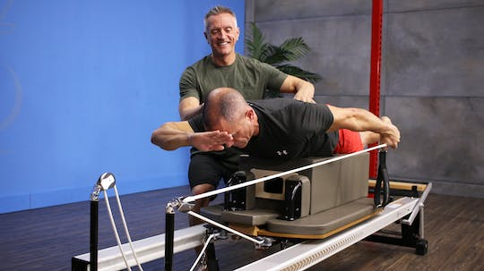 Instant Access to Reformer Upper Body Focus Workout - 9_4_17 by John Garey TV, powered by Intelivideo