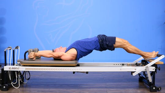 Reformer Workout - Hard to Teach Exercises - 8_7_17 by John Garey TV