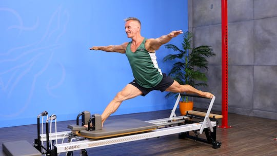 Reformer Workout - Hard to Teach Exercises 2 - 8_14_17 by John Garey TV, powered by Intelivideo