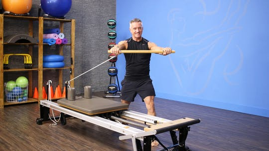 Reformer Workout with Roll Down Bar - 3_6_17 by John Garey TV, powered by Intelivideo