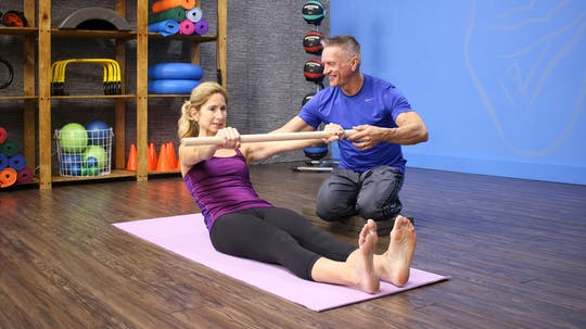 Instant Access to 1-18-17 Introducing Beginner Mat Workout by John Garey TV, powered by Intelivideo