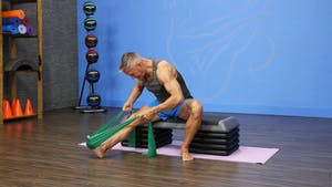 Beginner Mat with Band and Bench Workout for De-conditione by John Garey TV