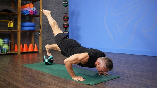 Pilates Mat with Med Ball Workout 2 by John Garey TV, powered by Intelivideo
