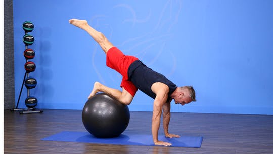 Instant Access to Pilates for Fitness - Abs with Swiss Ball by John Garey TV, powered by Intelivideo