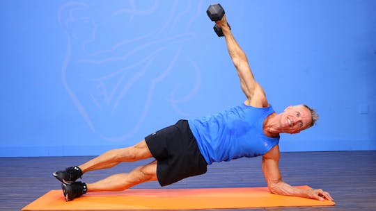 Strength Workout with Dumbbells and Med Ball 8-18-17 by John Garey TV, powered by Intelivideo