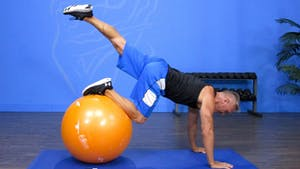 Instant Access to Swiss Ball Fitness Workout 8-12-16 by John Garey TV, powered by Intelivideo