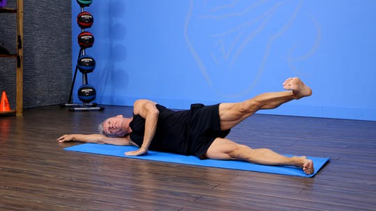 Instant Access to Side Leg Lift Series by John Garey TV, powered by Intelivideo
