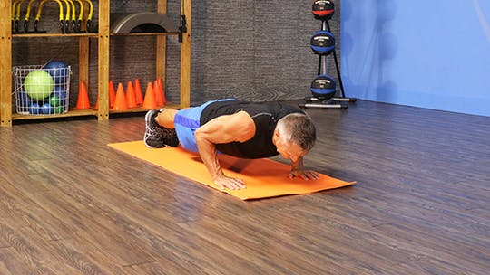 Pilates Push Up by John Garey TV