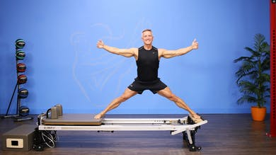 Advanced Reformer and Chair Balance Challenge by John Garey TV